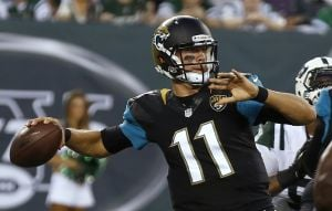 Gabbert is back home, hopes to help Jags win