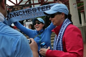 Thousands cheer on soccer at Busch Stadium