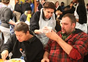 Hundreds gather for New Life Thanksgiving feast