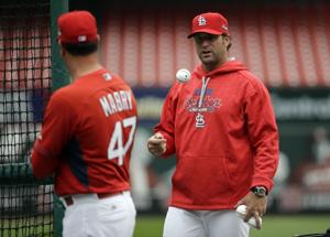 Matheny announces Cardinals' NLDS roster