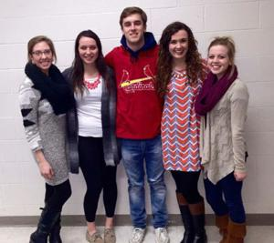 Timberland seniors each receive state student council award