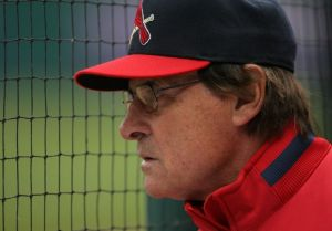 Tony LaRussa - unanimously elected into the Baseball Hall of Fame
