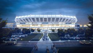 Bridges, gardens and a brew pub: New stadium details revealed