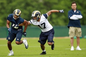 McCluer's Martin passes first test with Rams