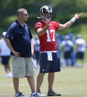 Fisher names Keenum as Rams' No. 2 quarterback