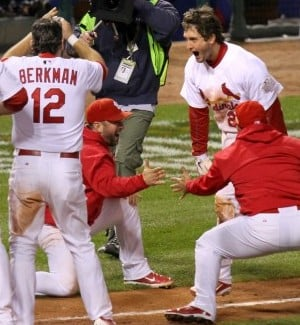 Hometown hero Freese sends World Series to Game 7