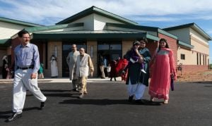 Joplin's Muslims rejoice in reopening of mosque after fire, allegedly set by arsonist