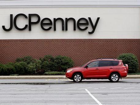 J.C. Penney holiday sales fell 0.8 percent, shares slide