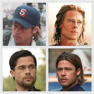 The Brad Pitt Match Game