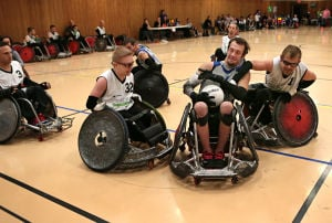 St. Louis Rams wheelchair rugby team