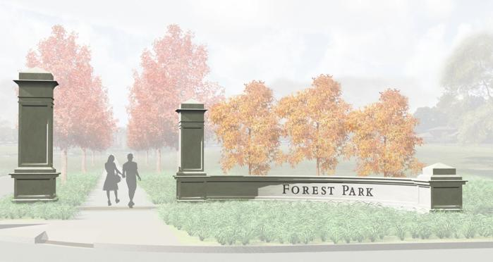 Forest Park To Get Formal Entrances News