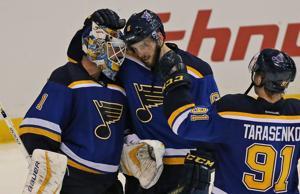 Bluenotes: Edmundson, Parayko make NHL debuts together
