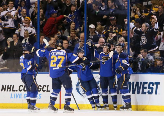 Royal Rout - Blues End Kings' Reign With 5-0 Dethroning