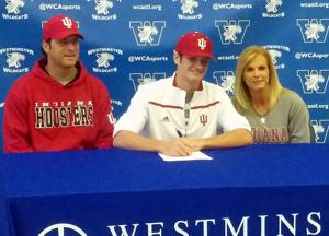 Westminster's Matheny carves own path by picking Hoosiers