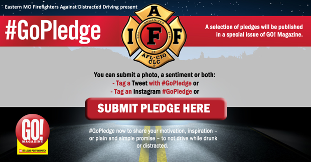 Submit your pledge not to drive while drunk or distracted