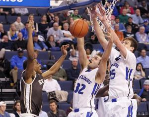 SLU puts up fight but can't hang on in A-10 tourney loss