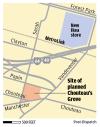 Chouteau's Grove map