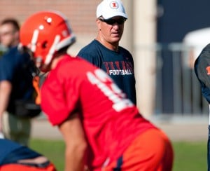 Illini first-team offense faces test in spring game