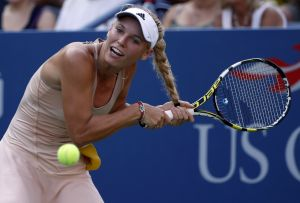 Caroline Wozniaki's hair and other top images from the U.S. Open