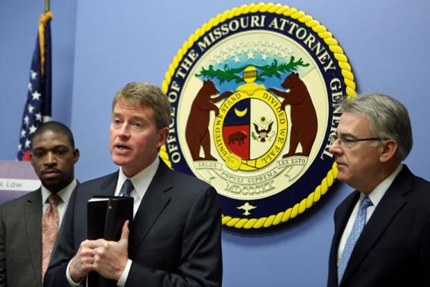Koster sues 13 St. Louis County municipalities over court fees