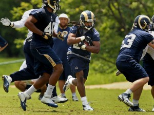 Rams' Richardson wants to make the most of backfield opportunit…