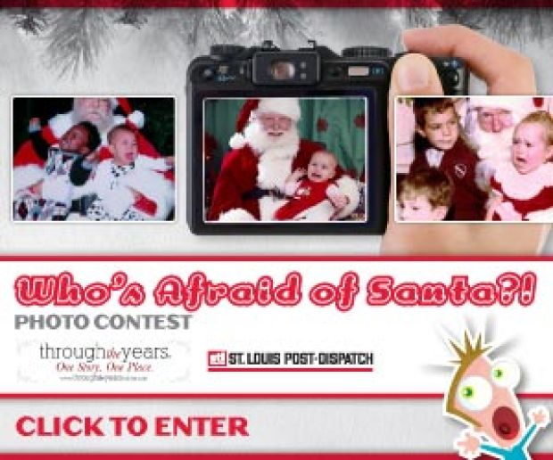 Did you capture the screams of terror from your visit with Santa? Enter your photo for the chance to win!