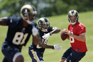 Jim Thomas: Are Bradford and receivers clicking?