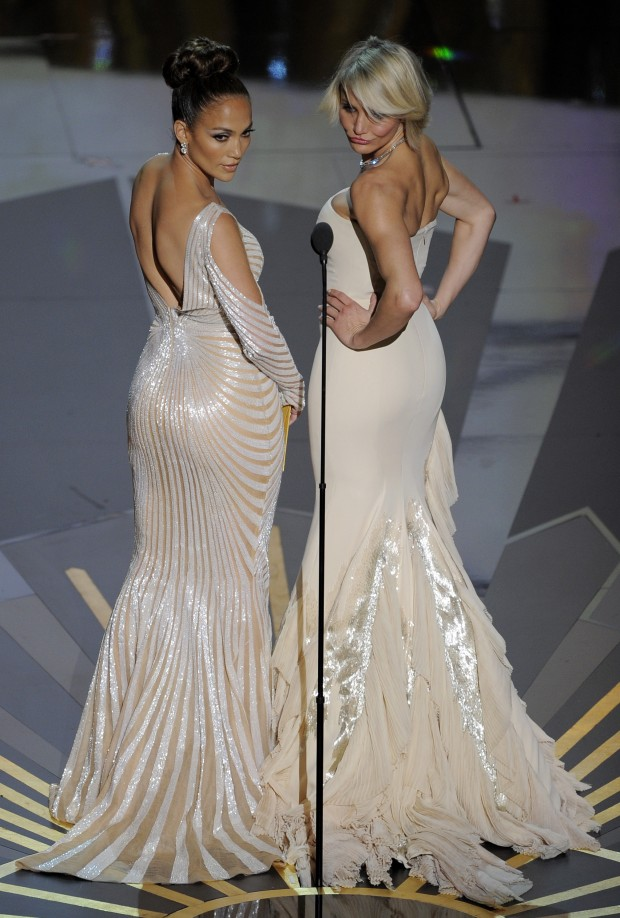 Photos J Lo S Oscar Dress Too Revealing Gallery