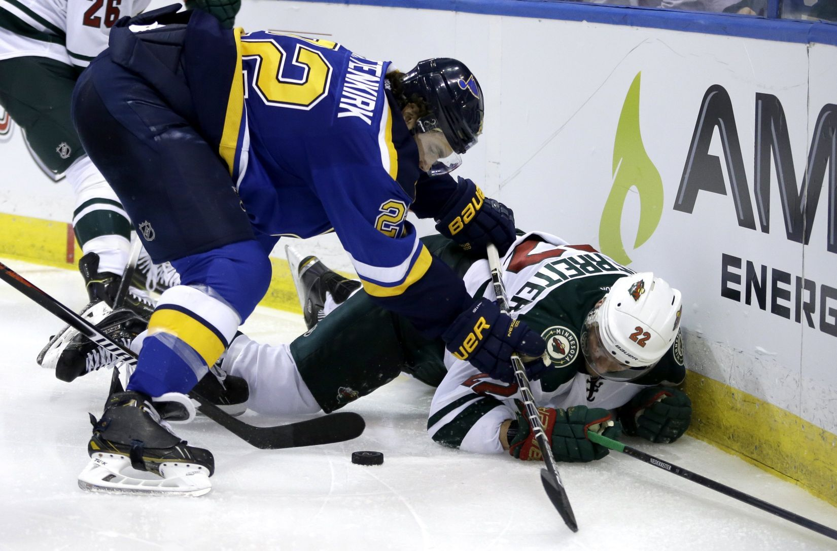 Shattenkirk is a spark for Blues