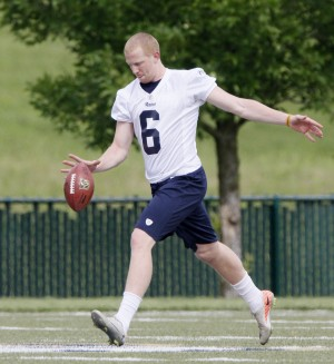 Rams' Hekker is angling for success