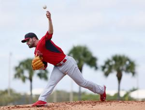 Cardinal's first full-squad workout at spring training