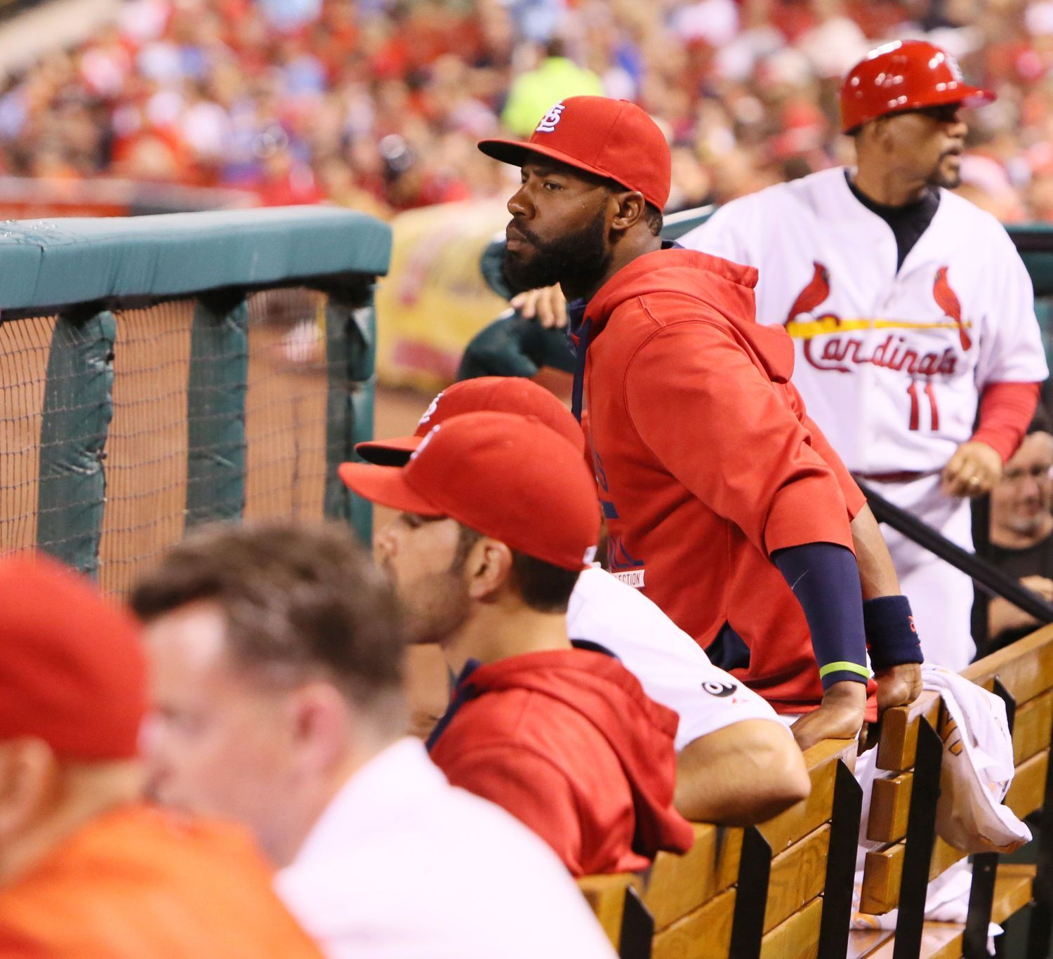 Heyward still out of Cards' lineup