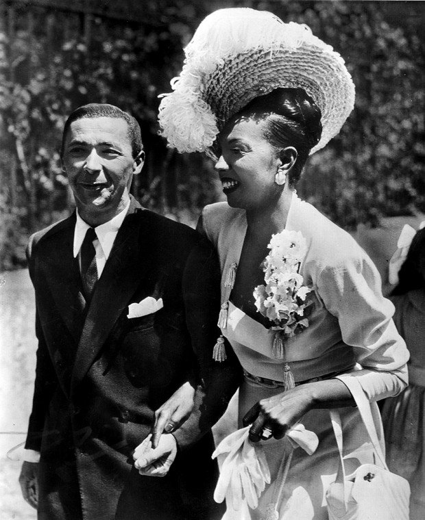 look back  josephine baker returns to st  louis  1952   news