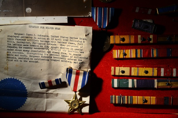 War World II medals turn up mysteriously in Goodwill store