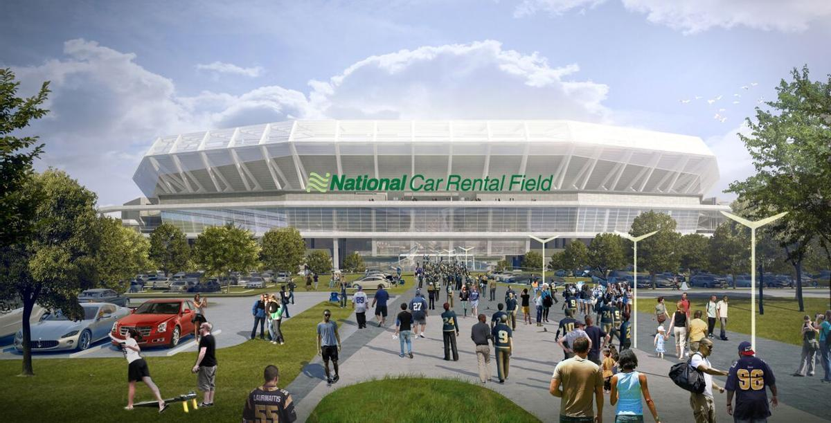 Proposed Riverfront Stadium Gets A Name National Car