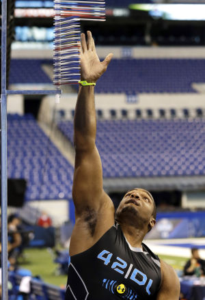 Michael Sam's combine workout disappointing