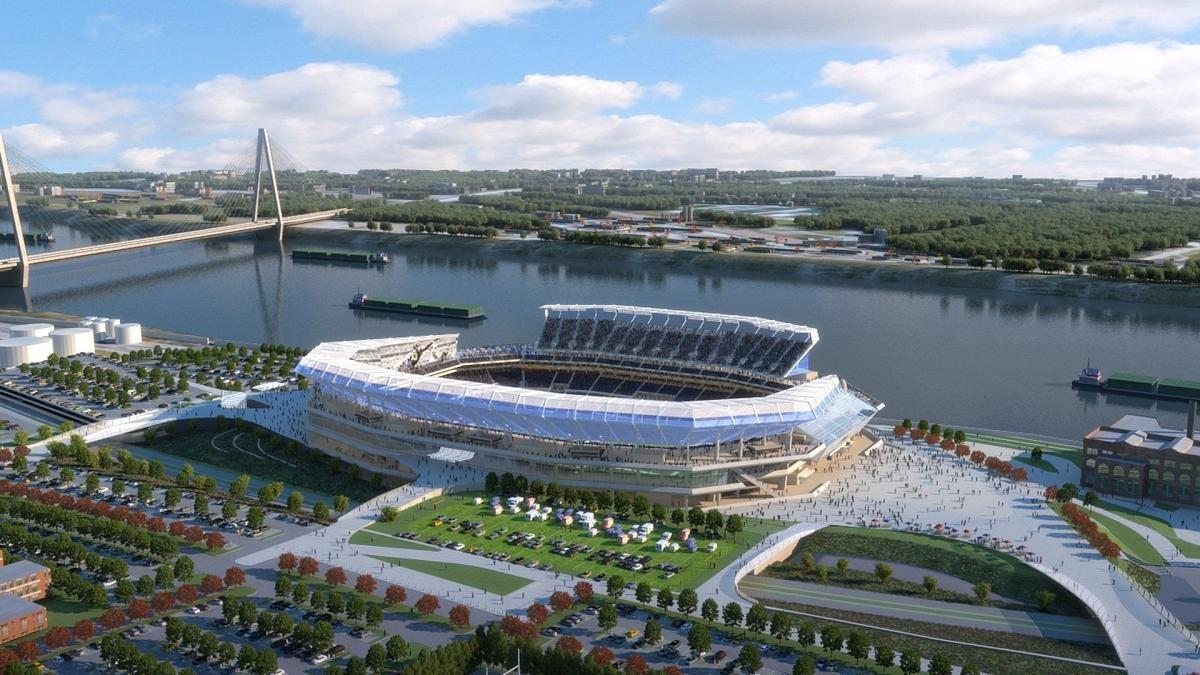 Proposed Nfl Stadium In St Louis Has Already Cost