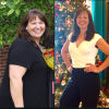 Kathy Blattel, before and after