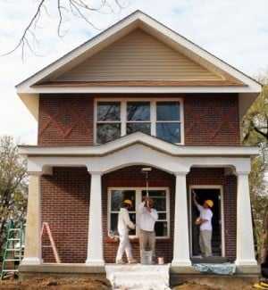Low income families get a shot at 20 new homes in granite for Low income home builders