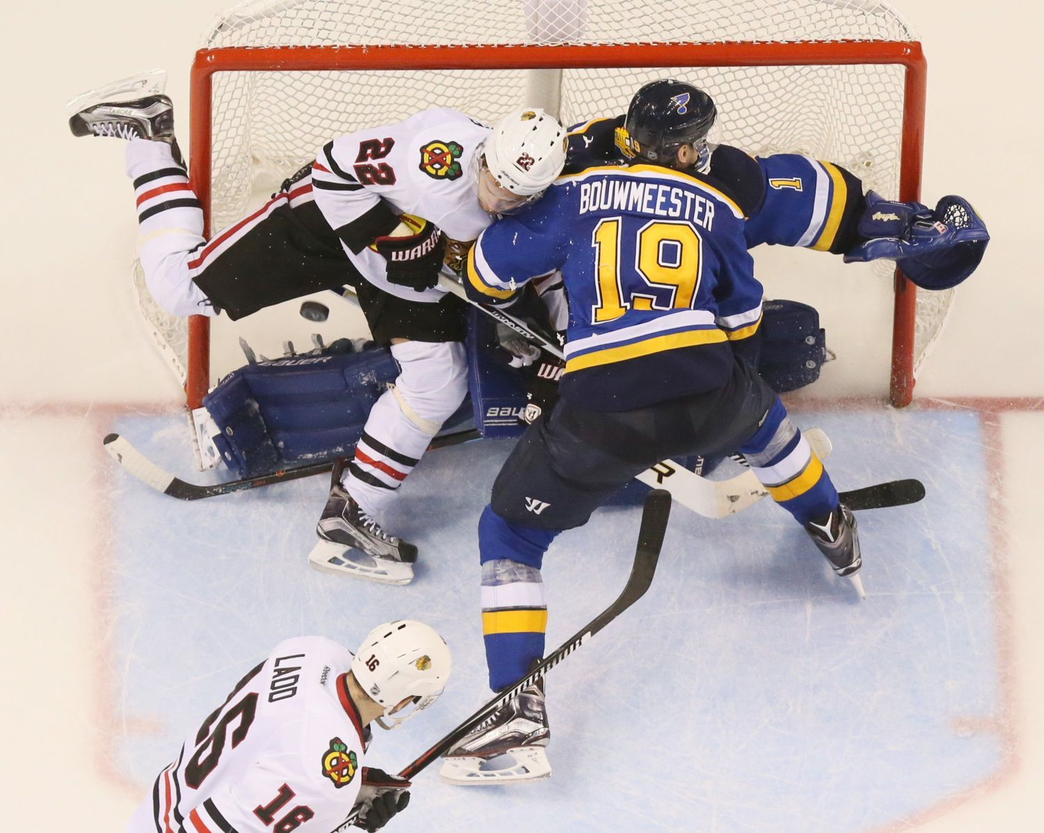 At long last, a playoff series win for Bouwmeester
