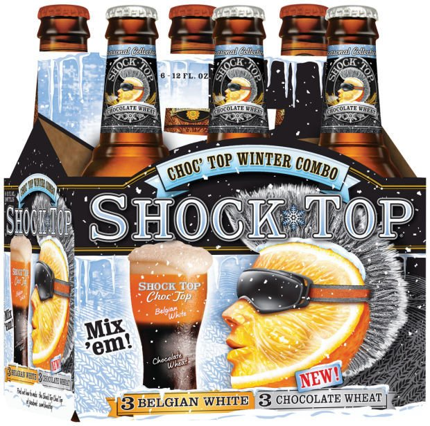 shock top adds chocolate wheat to lineup