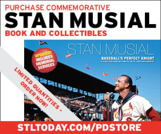 Remembering Stan the Man! Shop the P-D Store for your Stan Musial commemoratives!