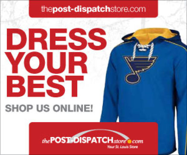 It's BLUE love! Shop the P-D Store for great new Blues gear!