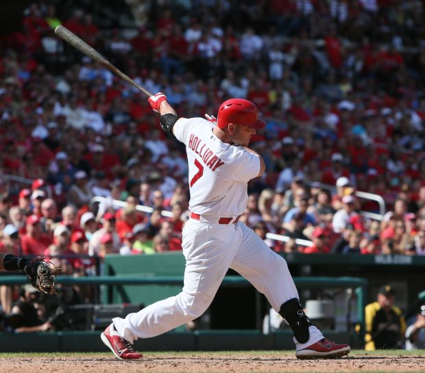 Want to talk about 1st-place Cardinals? Join Derrick Goold
