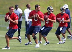 Rams' first full squad training camp practice