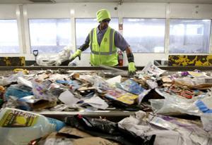 Recycling plant sorts through St. Louis castoffs