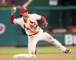Kozma spells Wong at second base