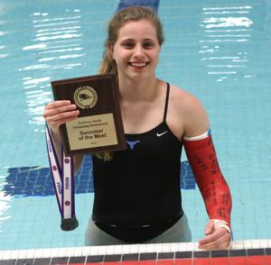 Parkway West's Petersen swims to her own beat