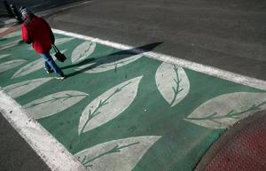 St. Louis will let crosswalk art that violates federal rules fade away