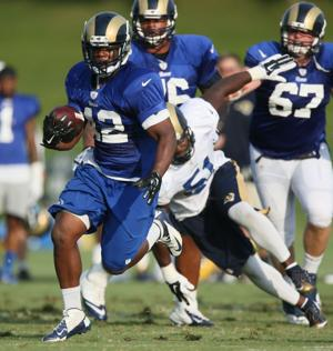 Rams notebook: RB Watts released, injured Ogletree remains on roster
